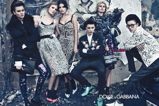 Campagne Dolce & Gabbana - Automne/hiver 2011-2012 - Photo 3