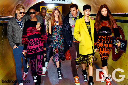 Campagne D&G - Automne/hiver 2011-2012 - Photo 2