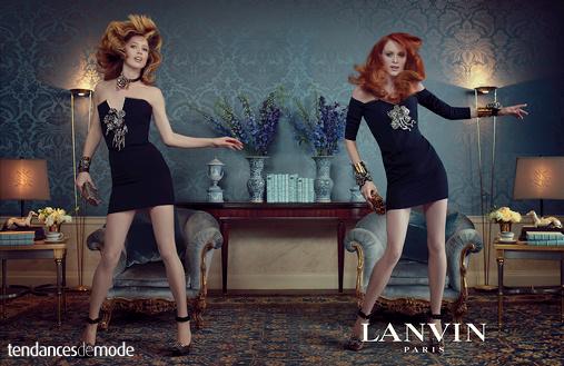 Bijoux Lanvin baroques en perles et cristal