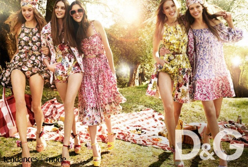Campagne D&G - Printemps/été 2011 - Photo 1
