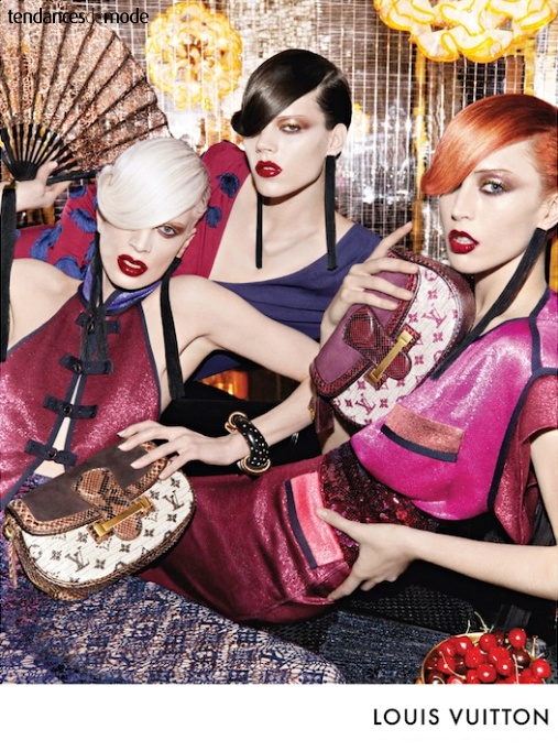 Campagne Louis Vuitton - Printemps/été 2011 - Photo 3