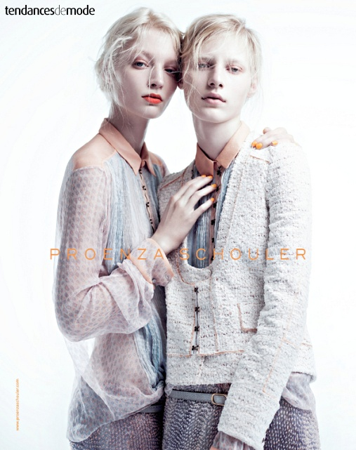 Campagne Proenza Schouler - Printemps/été 2011 - Photo 1