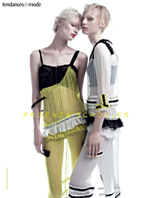 Campagne Proenza Schouler - Printemps/été 2011 - Photo 3