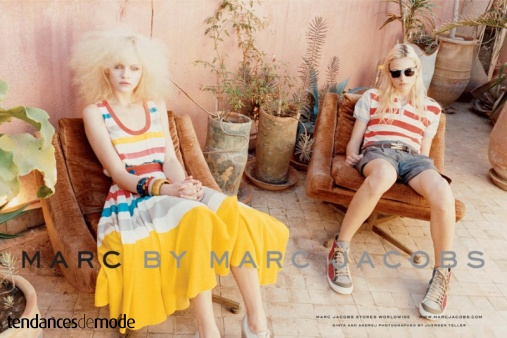 Campagne Marc by Marc Jacobs - Printemps/été 2011 - Photo 1