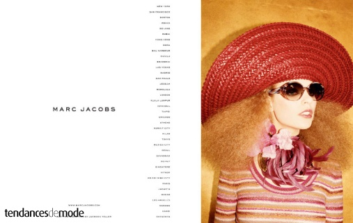 Campagne Marc Jacobs - Printemps/été 2011 - Photo 1