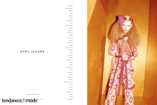 Campagne Marc Jacobs - Printemps/été 2011 - Photo 2