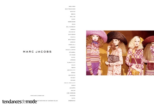 Campagne Marc Jacobs - Printemps/été 2011 - Photo 6