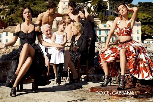 Campagne Dolce & Gabbana - Printemps/été 2012 - Photo 1