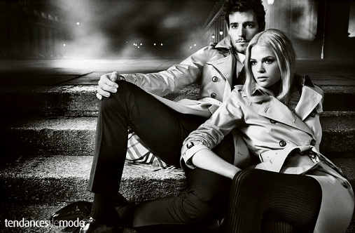 Campagne Burberry - Automne/hiver 2012-2013 - Photo 1