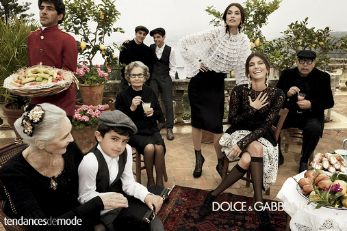 Campagne Dolce & Gabbana - Automne/hiver 2012-2013 - Photo 2