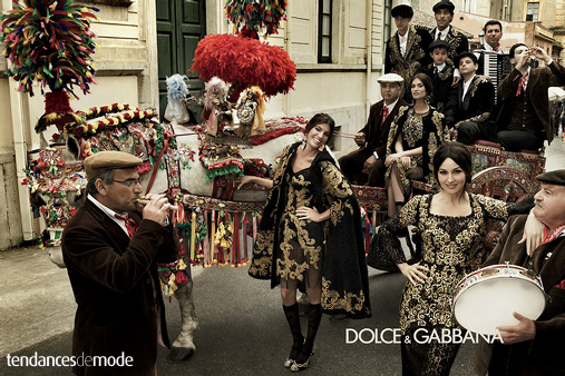Campagne Dolce & Gabbana - Automne/hiver 2012-2013 - Photo 4