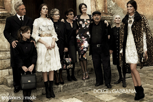 Campagne Dolce & Gabbana - Automne/hiver 2012-2013 - Photo 6