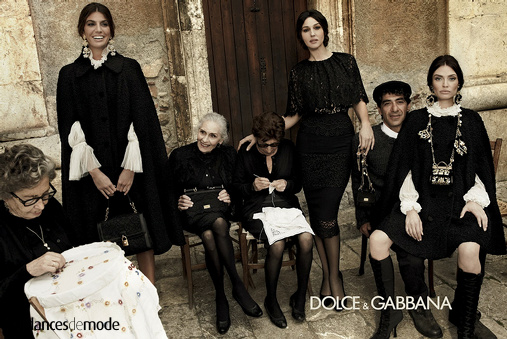 Campagne Dolce & Gabbana - Automne/hiver 2012-2013 - Photo 7