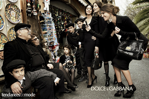 Campagne Dolce & Gabbana - Automne/hiver 2012-2013 - Photo 8
