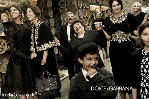 Campagne Dolce & Gabbana - Automne/hiver 2012-2013 - Photo 9