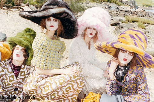Campagne Marc Jacobs - Automne/hiver 2012-2013 - Photo 6