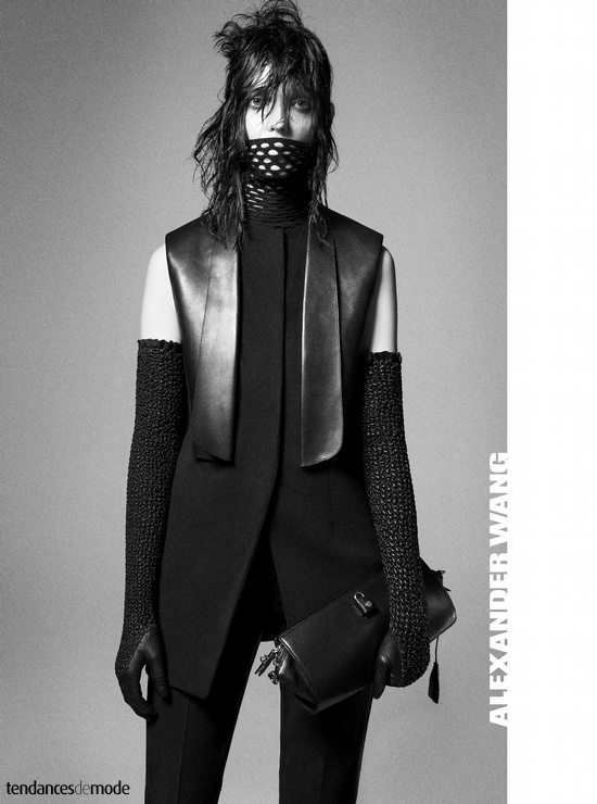 Campagne Alexander Wang - Automne/hiver 2012-2013 - Photo 1