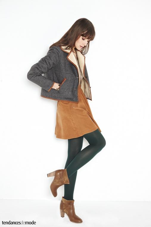 Collection comptoir des cotonniers automne hiver 2012 - Manteau comptoir des cotonniers hiver 2012 ...