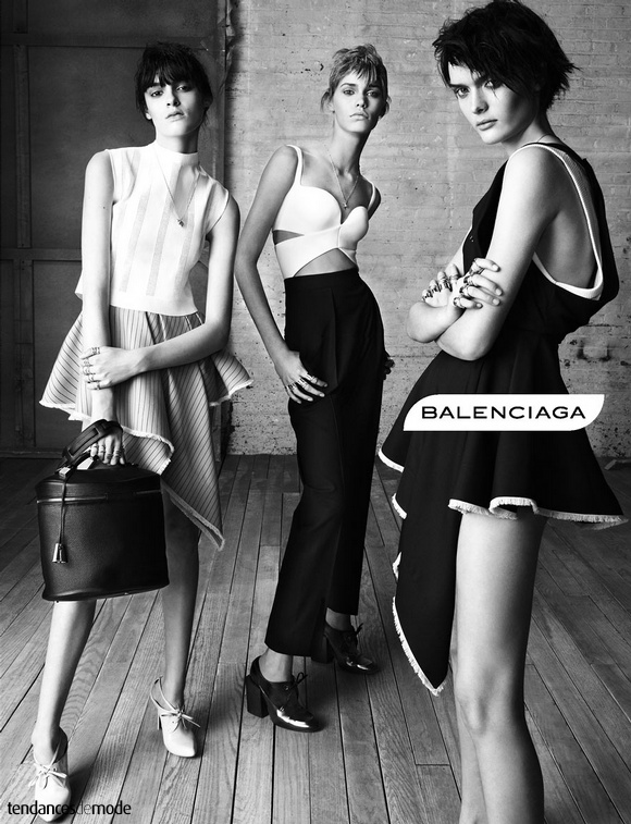 Campagne Balenciaga - Printemps/été 2013 - Photo 1
