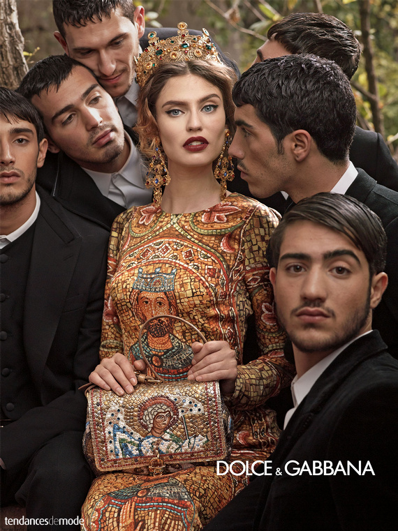 Campagne Dolce & Gabbana - Automne/hiver 2013-2014 - Photo 1