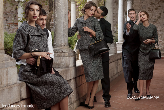 Campagne Dolce & Gabbana - Automne/hiver 2013-2014 - Photo 5