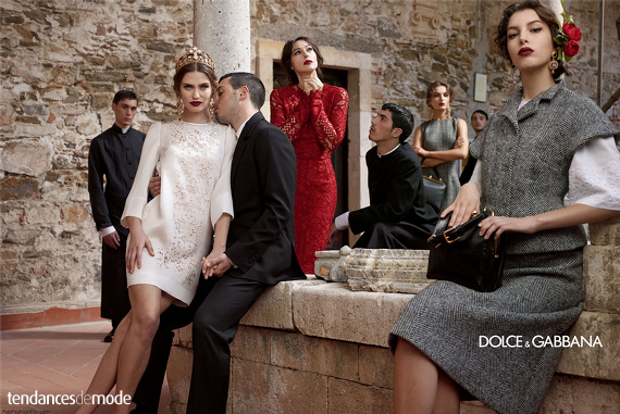 Campagne Dolce & Gabbana - Automne/hiver 2013-2014 - Photo 6