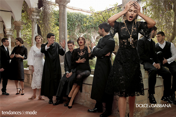 Campagne Dolce & Gabbana - Automne/hiver 2013-2014 - Photo 8