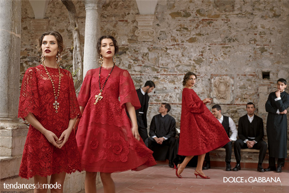 Campagne Dolce & Gabbana - Automne/hiver 2013-2014 - Photo 9