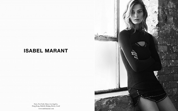 Campagne Isabel Marant - Automne/hiver 2013-2014 - Photo 1
