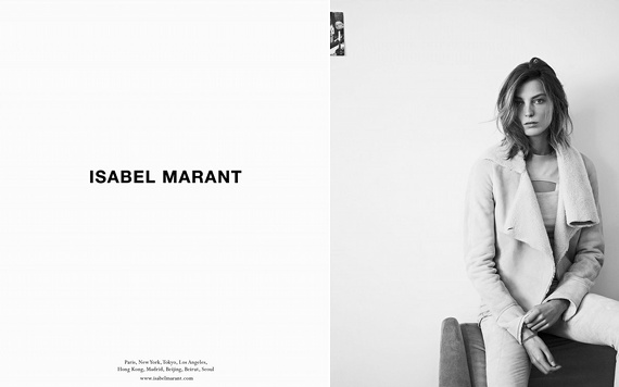 Campagne Isabel Marant - Automne/hiver 2013-2014 - Photo 2