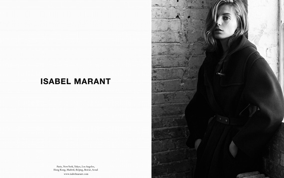 Campagne Isabel Marant - Automne/hiver 2013-2014 - Photo 3