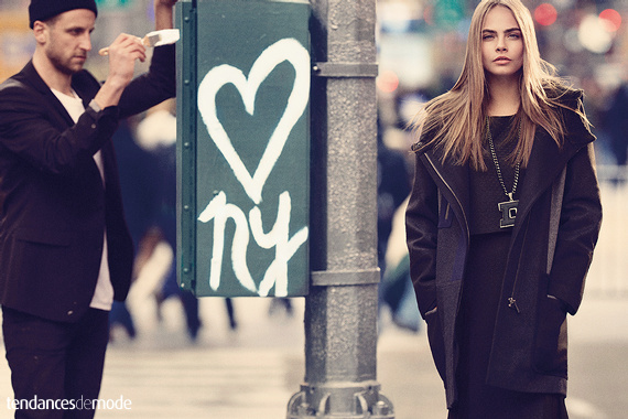 Campagne DKNY - Automne/hiver 2013-2014 - Photo 1