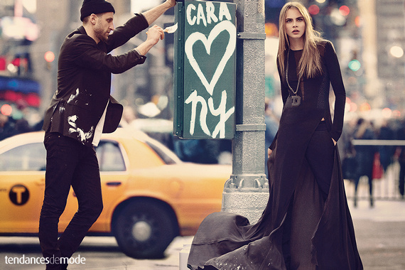 Campagne DKNY - Automne/hiver 2013-2014 - Photo 8