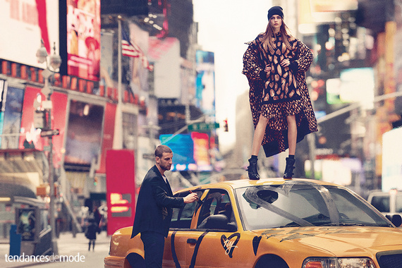 Campagne DKNY - Automne/hiver 2013-2014 - Photo 10