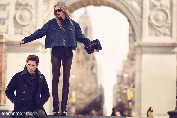 Campagne DKNY - Automne/hiver 2013-2014 - Photo 11