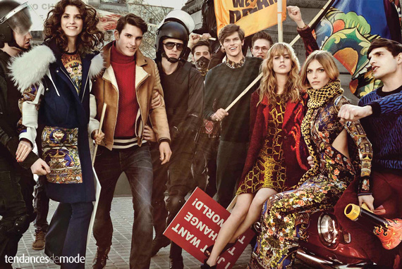 Campagne Just Cavalli - Automne/hiver 2013-2014 - Photo 2