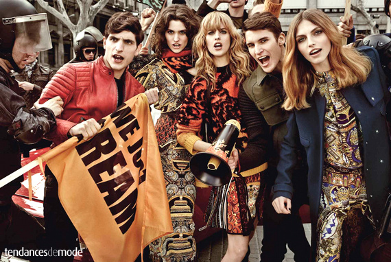 Campagne Just Cavalli - Automne/hiver 2013-2014 - Photo 3