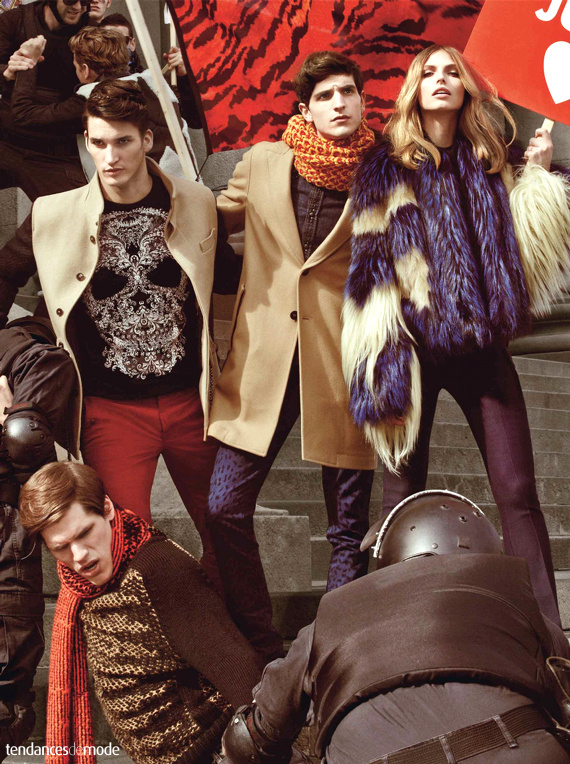 Campagne Just Cavalli - Automne/hiver 2013-2014 - Photo 5
