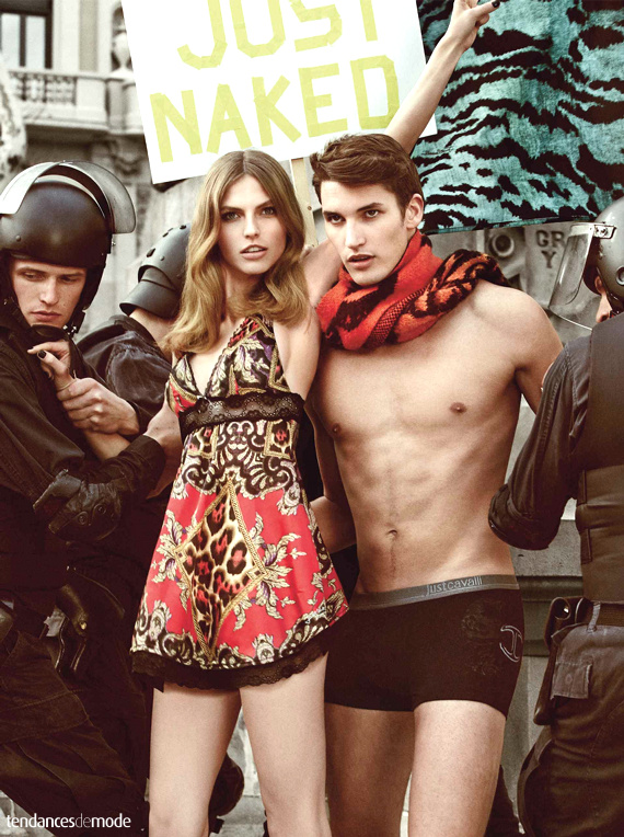 Campagne Just Cavalli - Automne/hiver 2013-2014 - Photo 9