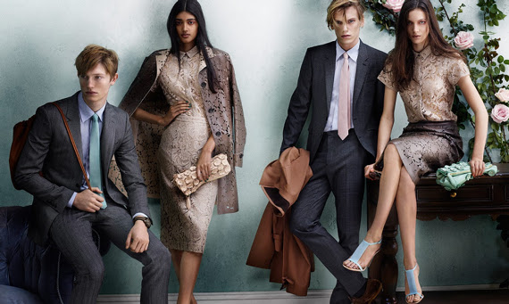Campagne Burberry - Printemps/été 2014 - Photo 2