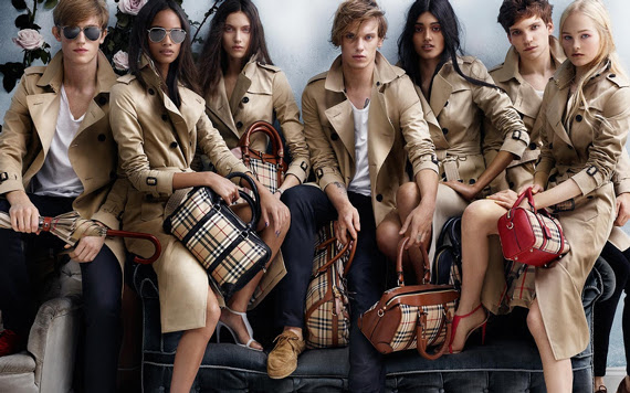 Campagne Burberry - Printemps/été 2014 - Photo 3