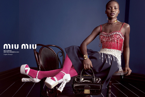 Campagne Miu Miu - Printemps/été 2014 - Photo 1