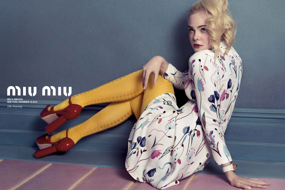 Campagne Miu Miu - Printemps/été 2014 - Photo 2