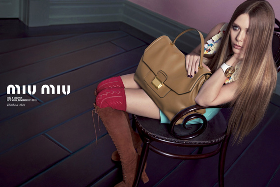 Campagne Miu Miu - Printemps/été 2014 - Photo 3