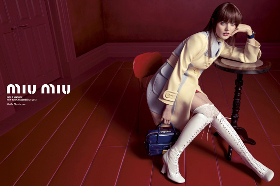 Campagne Miu Miu - Printemps/été 2014 - Photo 4