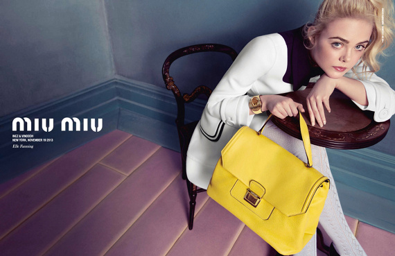 Campagne Miu Miu - Printemps/été 2014 - Photo 5