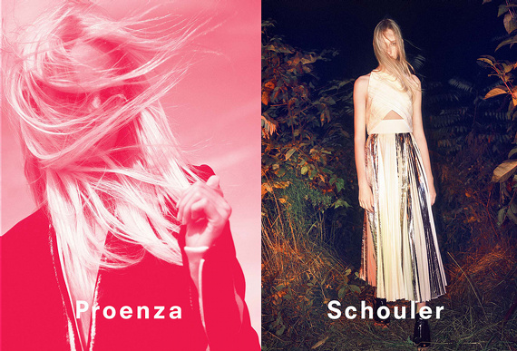Campagne Proenza Schouler - Printemps/été 2014 - Photo 1