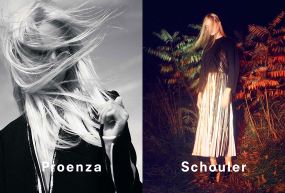 Campagne Proenza Schouler - Printemps/été 2014 - Photo 2