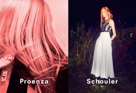 Campagne Proenza Schouler - Printemps/été 2014 - Photo 3