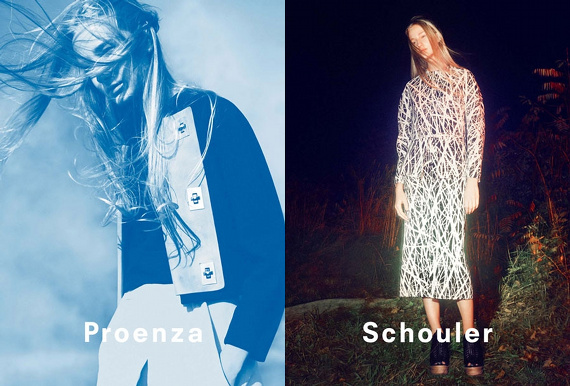 Campagne Proenza Schouler - Printemps/été 2014 - Photo 4
